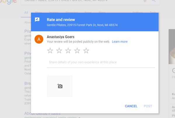 get google reviews link