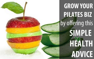 healthy habits to complement pilates