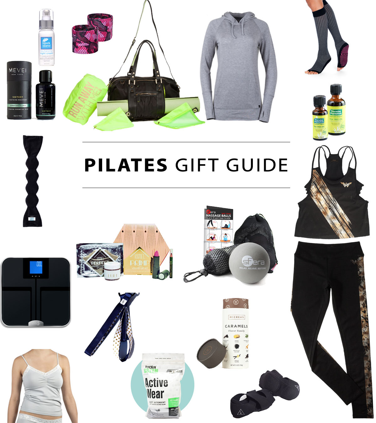 Pilates Gift Guide and Giveaway 2017 - Pilates Bridge