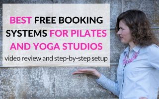 scheduling systems for pilates and yoga studios